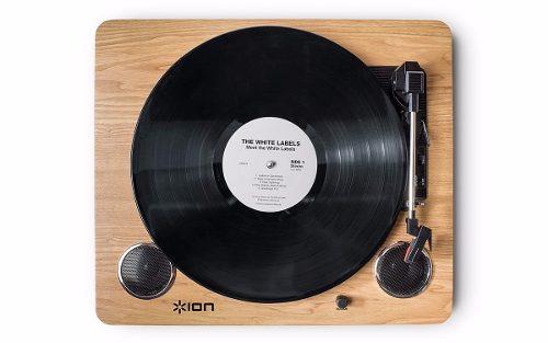 Toca Discos Vitrola ION Com Conversor Digital USB - Archivelp