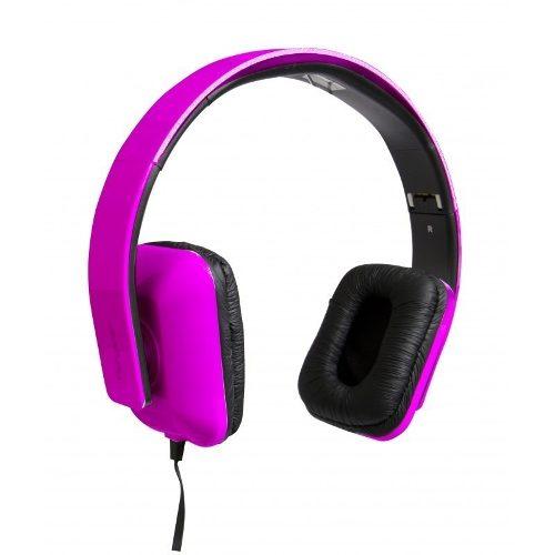 Fone De Ouvido Targus Headphone Dobrável Com Microfone - Ta-41hp Pink