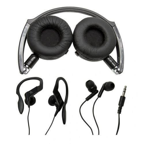 Kit Vivitar Com 3 Modelos De Fones De Ouvido Headphone - V12134-raven