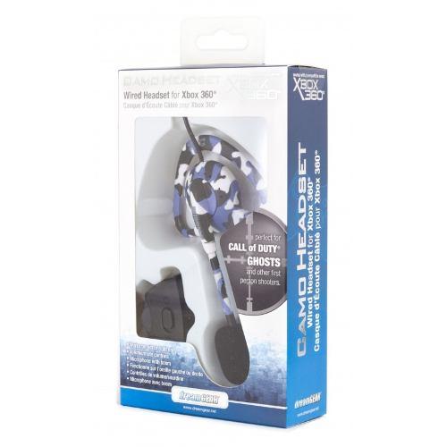 Fone De Ouvido Dreamgear Para Xbox360 Headset Com Microfone - Dg360-1742