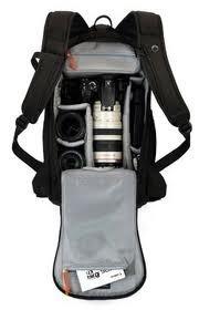 Mochila LowePro Para Câmera Digital Profissional Lente Acessórios - Lp35185