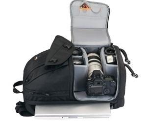 Mochila Para Câmera Lente Notebook Acessórios Lowepro - Lp35197