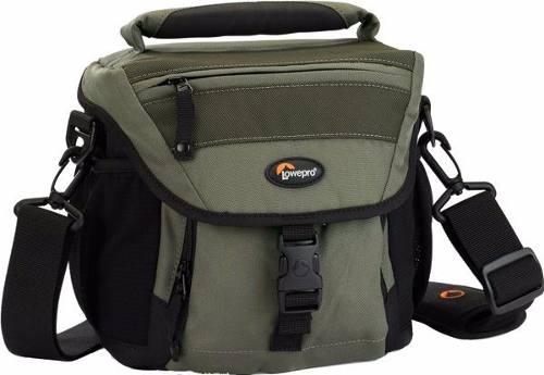 Bolsa LowePro Verde Para Câmera Digital Profissional Nova140Aw - Lp35246