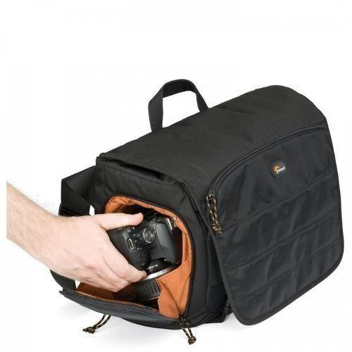 Bolsa LowePro Para Câmera DSLR E Notebook Com Tela De Até 15.6´ CompuDay Photo 150 - LP36296