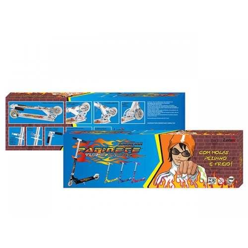 Patinete Infantil Masculino Azul Reforçado P/ Meninos TR-1017 - FULLFILMENT VENDAS