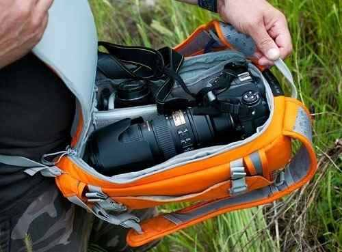 Mochila Lowepro Para Câmera DSLR Flipside Sport 10l Aw - Lp36422