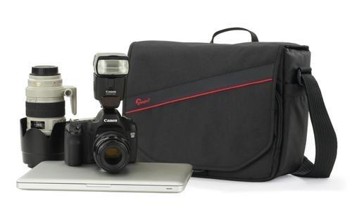 Bolsa LowePro De Ombro Para Câmera Digital DSLR Tablet E Acessórios - Event Messenger 250 LP36464