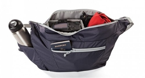 Bolsa LowePro Para Câmera DSLR Photo Sport Shoulder 12L - Lp36572