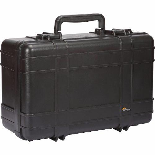 Maleta Rígida LowePro HardSide 400 Com Mochila Destacável Para Câmera Profissional E Acessórios - Lp36725