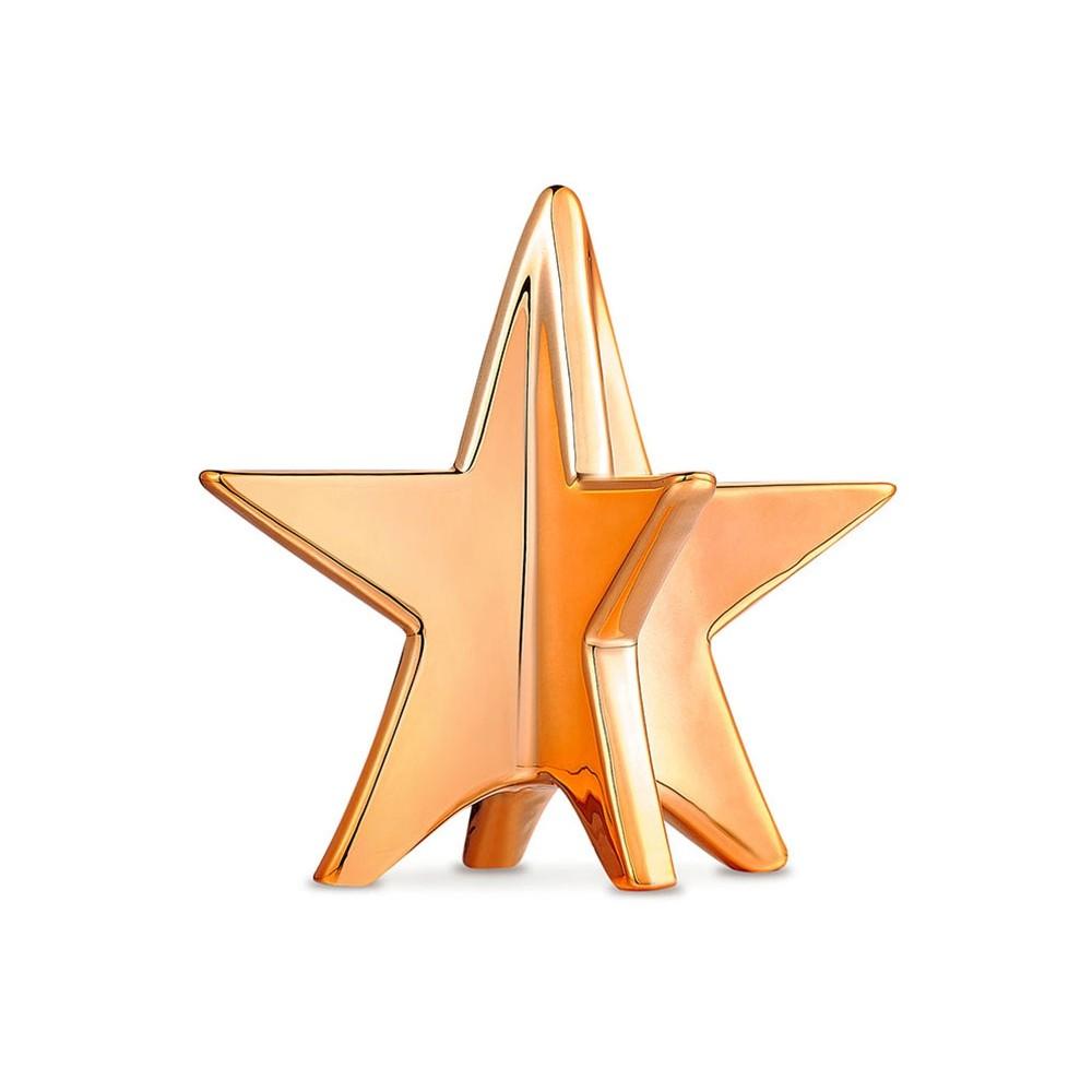 Adorno Estrela Dourada 14,2 X 14 X 1 3 CM Bencafil - 157006