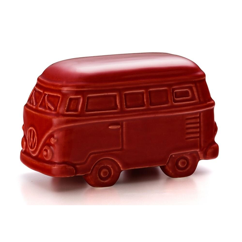 Enfeite Para Casa Kombi Vermelho 14 X 7 X 8,5 CM Bencafil - 78039