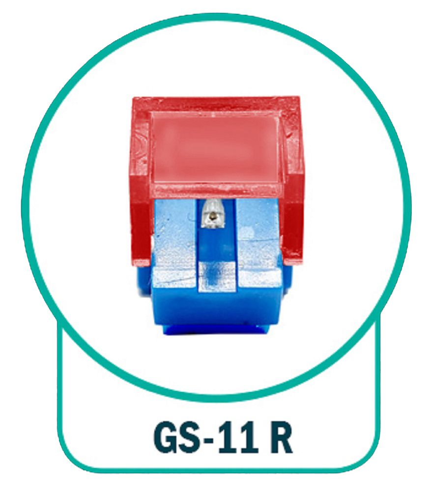 Agulha Leson GS-11 Rubi Original Para Toca-Disco e Vitrola  - GS-11R