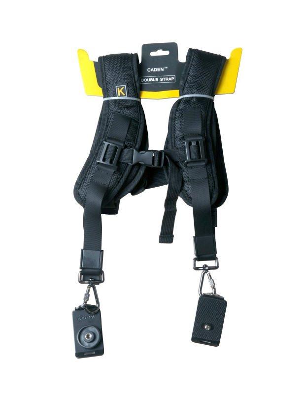 Alça Dupla Para Câmeras DSLR Canon Nikon Sony - K