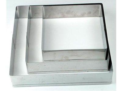 Aro Quadrado Inox 25X8 - 02.Q25X8