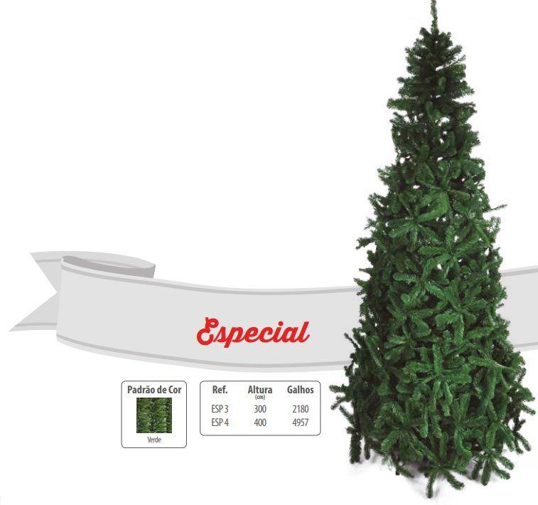 Árvore de Natal Pinheirinho Especial Gigante 3 Metros - ESP4