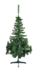 Árvore De Natal Pinheirinho Grande Verde 1,35 Metro 171 Galhos - Pinho d'Italia 2