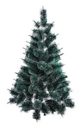 Árvore De Natal Pinheirinho Grande Verde 1,50 Metros 136 Galhos - Andreia 1
