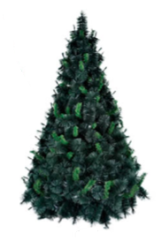 Árvore De Natal Pinheirinho Grande Verde 1,80 Metros 377 Galhos - Copa 3