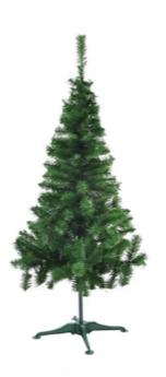 Árvore De Natal Pinheirinho Grande Verde 1,70 Metro 221 Galhos - Pinho d'Italia 3