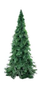 Árvore De Natal Pinheirinho Grande Verde 1,80 Metro 745 Galhos - Pinho De Lucca 3