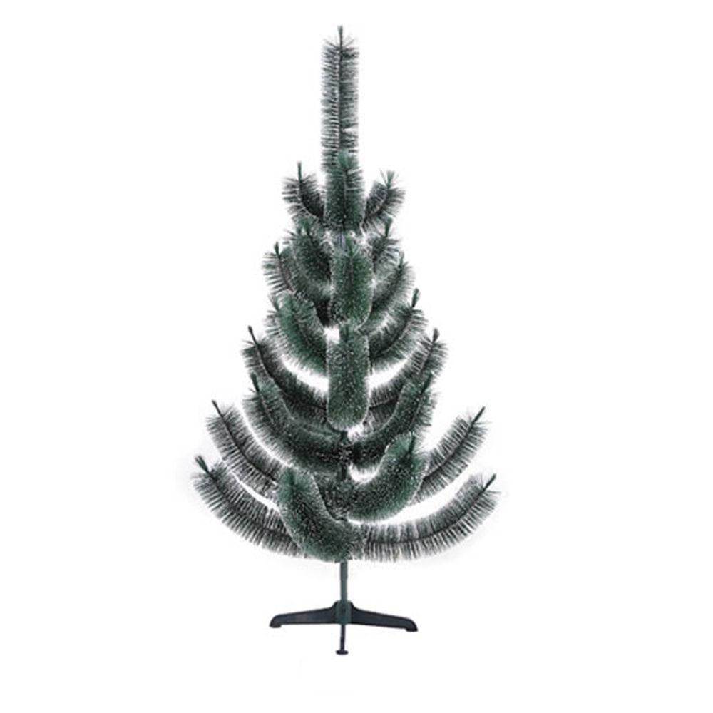 Árvore de Natal Pinheirinho Grande Verde Com Neve 1,50 Metros 33 Galhos - Alpina 5