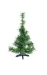 Árvore De Natal Pinheirinho Pequena Verde 0,45 Centímetros 25 Galhos - Shangai 0