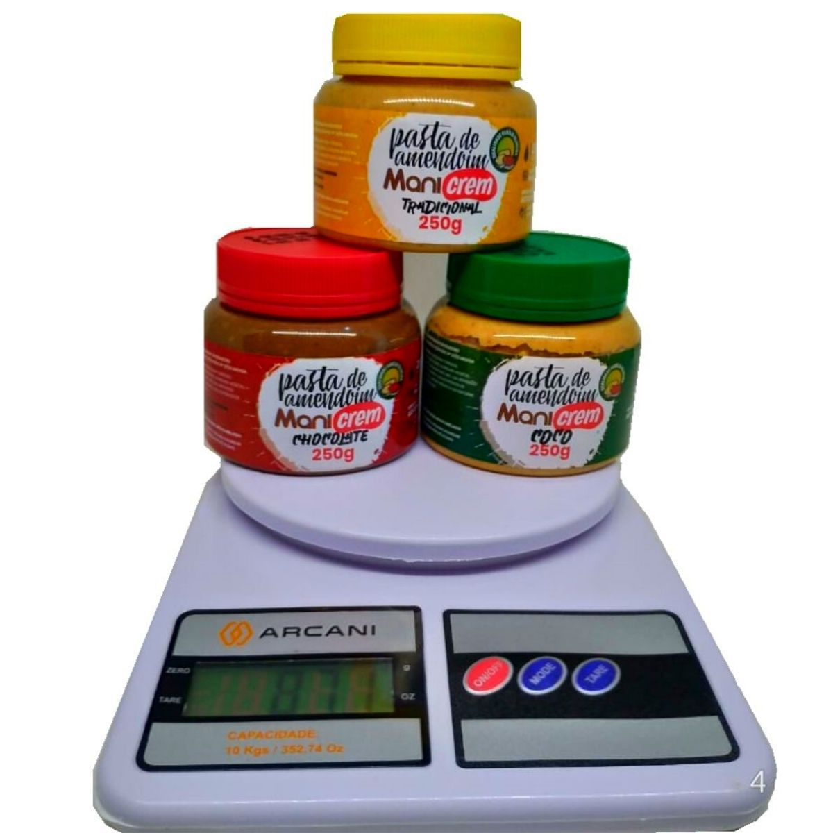 Balança Digital De Precisão Culinária 10Kg Arcani - SF-600