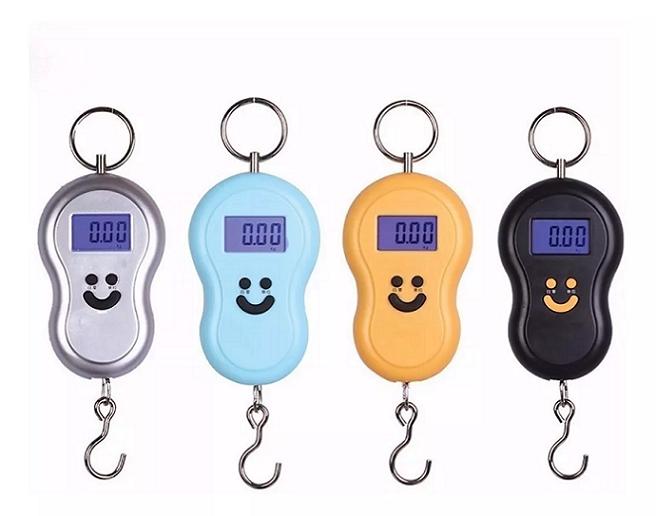 Balança Pratica De Gancho Portátil Digital Para Bagagens Até 50kg - Stc-01