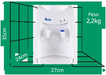 Bebedouro Eletrônico Refrigerado Polar Branco - Sv1100b  220v