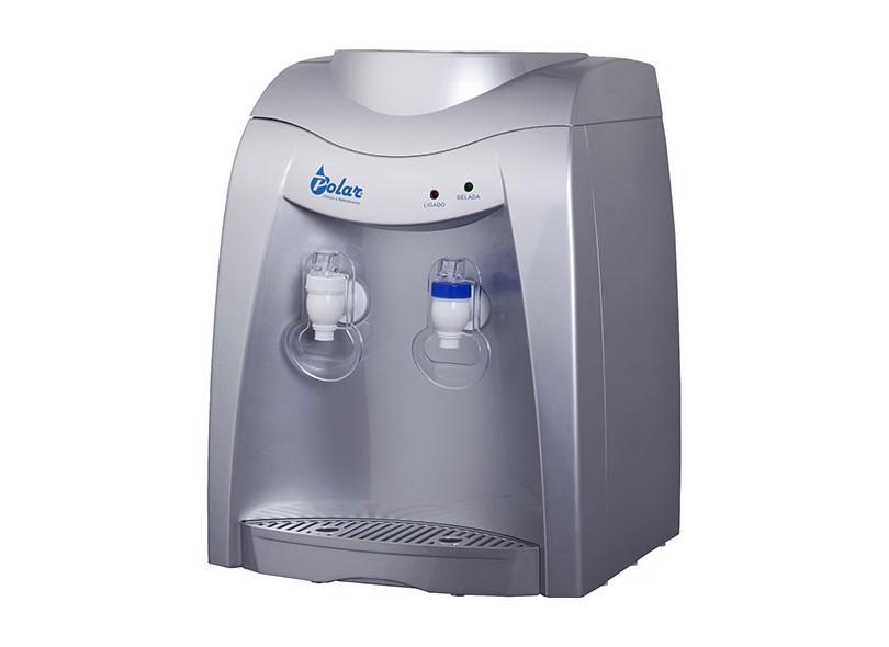 Bebedouro Eletrônico Refrigerado Polar Prata - SV3300b 220v