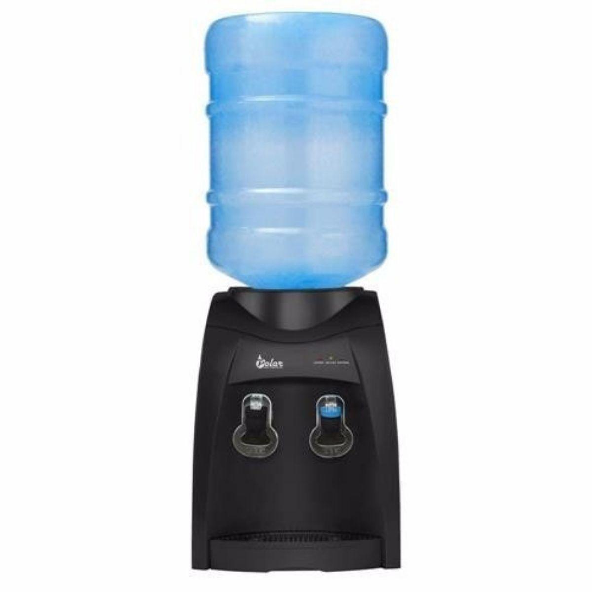Bebedouro Eletrônico Água Natural E Gelada Refrigerado 110v Preto - FULLFILMENT