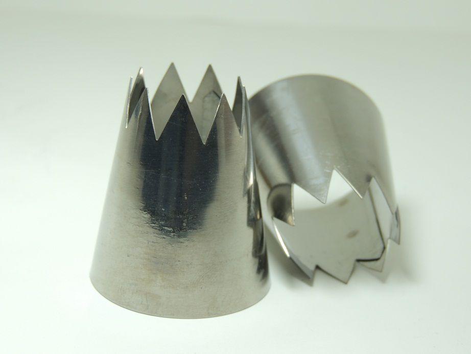 Bico Para Confeitar Churros Inox - 12 peças - 07.CH