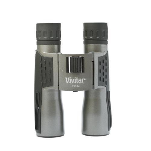 Binóculo Vivitar Emborrachado Com ampliação De 16x E Lente 32mm - VIV-XS-1632