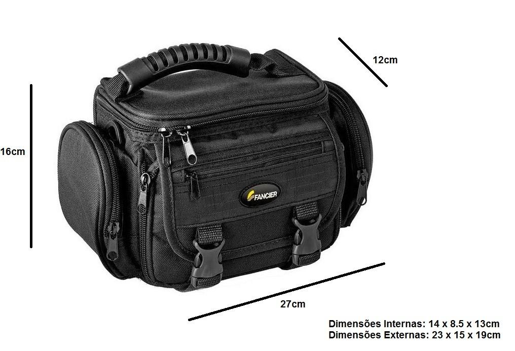 Bolsa Facier Para Câmera Fotográfica E Filmadora E Acessórios Wb-3226