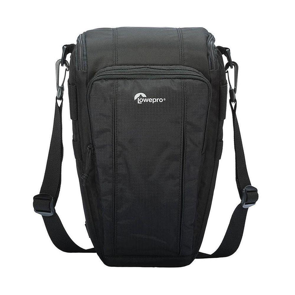 Bolsa LowePro Para Câmera Digital SLR Com Lente E Pequenos Acessórios Toploader Zoom 55 AW II - LP36704