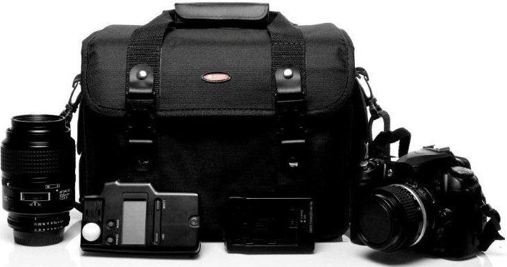 Bolsa Para Câmeras Profissional e Equipamentos Fotograficos - Olimpic 3
