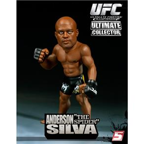 Boneco Action Figure UFC Ultimate Fighting Championship - Anderson Silva Sem Camisa The Spider