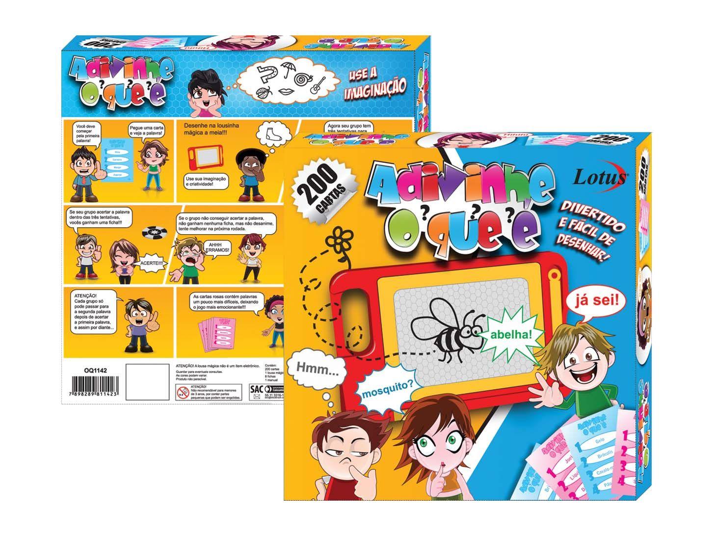 Brinquedo Adivinhe Oque é - OQ-1142