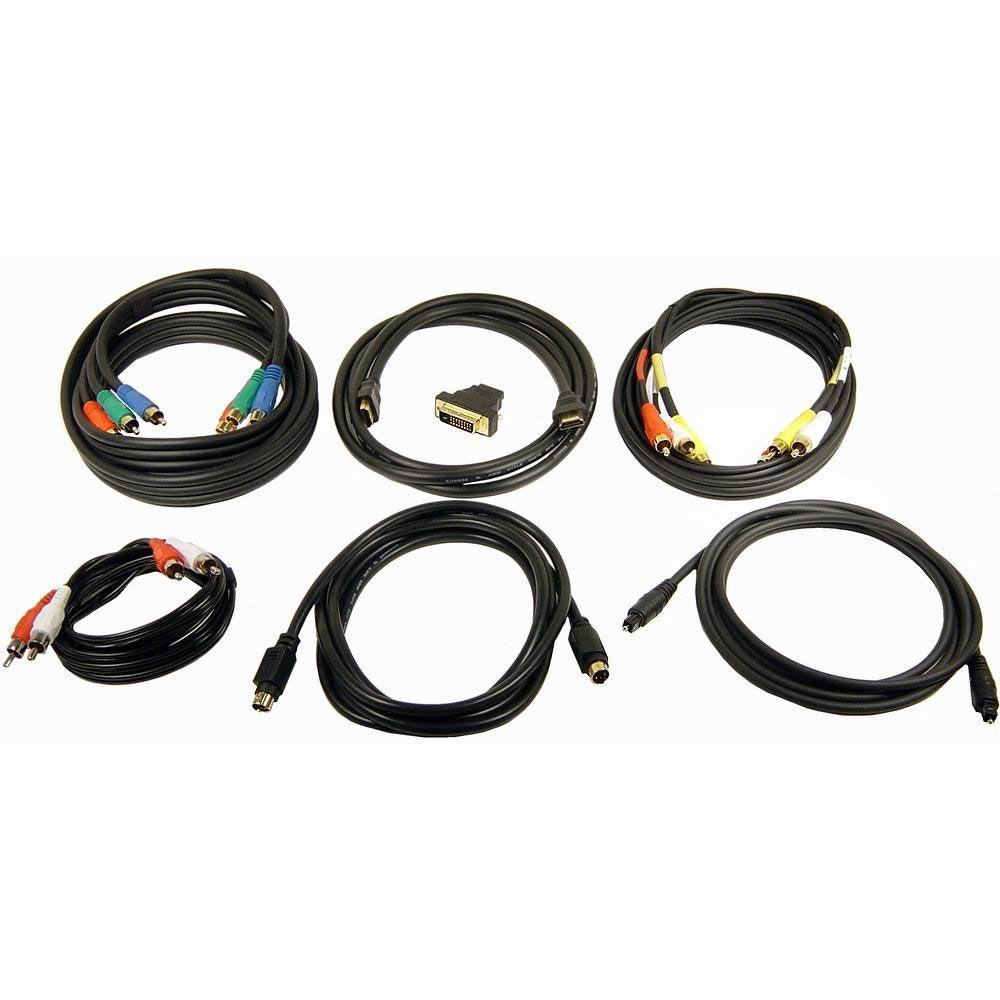 Conjunto De Cabos E Adaptador Para Integração De Sistemas De Áudio E Vídeo