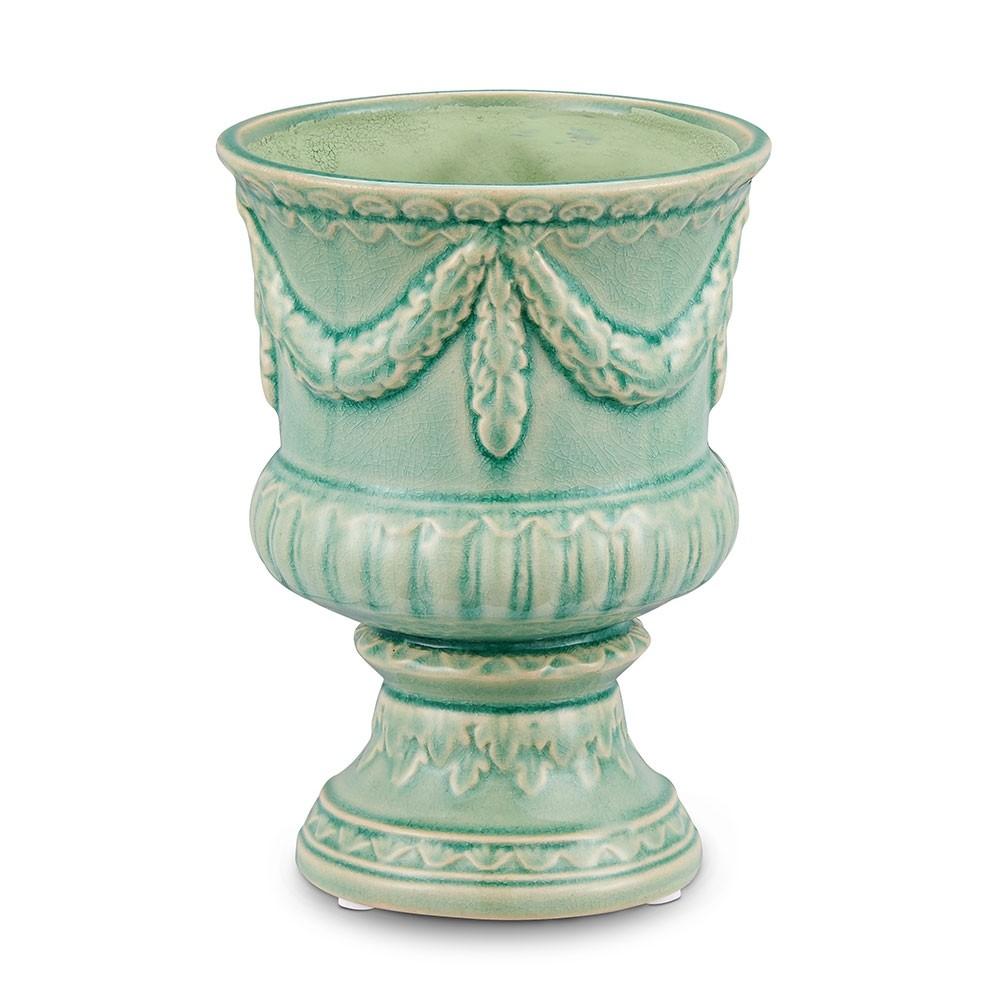 Cachepot Taça Verde 12,8 X 12,8 X 17,5 CM Bencafil - 153001