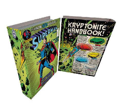 Caixa Livro Madeira Dc Superman Colorido 25 X - 59025004