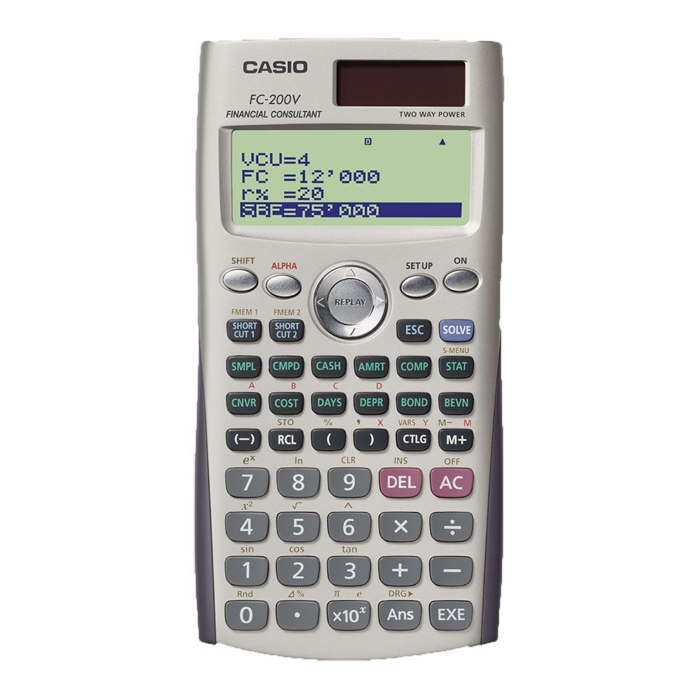 CALCULADORA CASIO - FC-200V