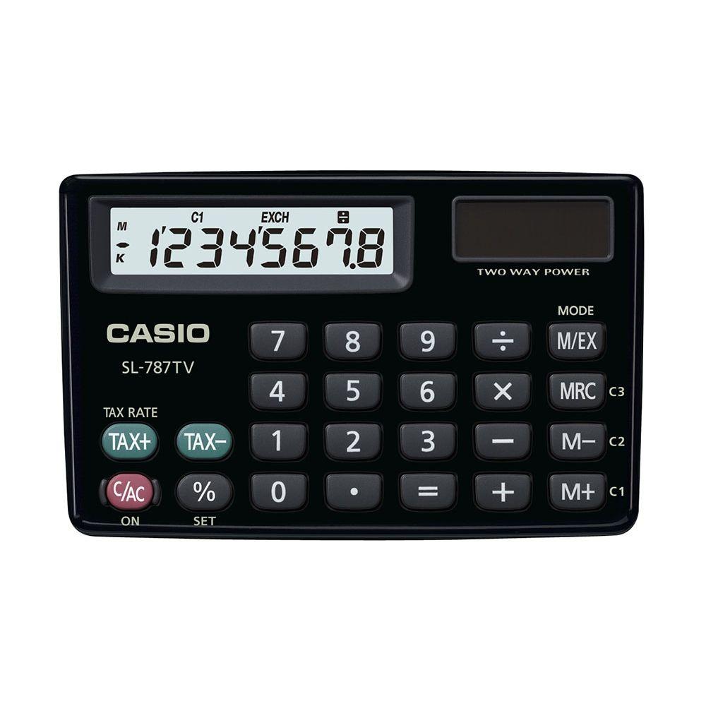 Calculadora Casio - SL-787TV-BK