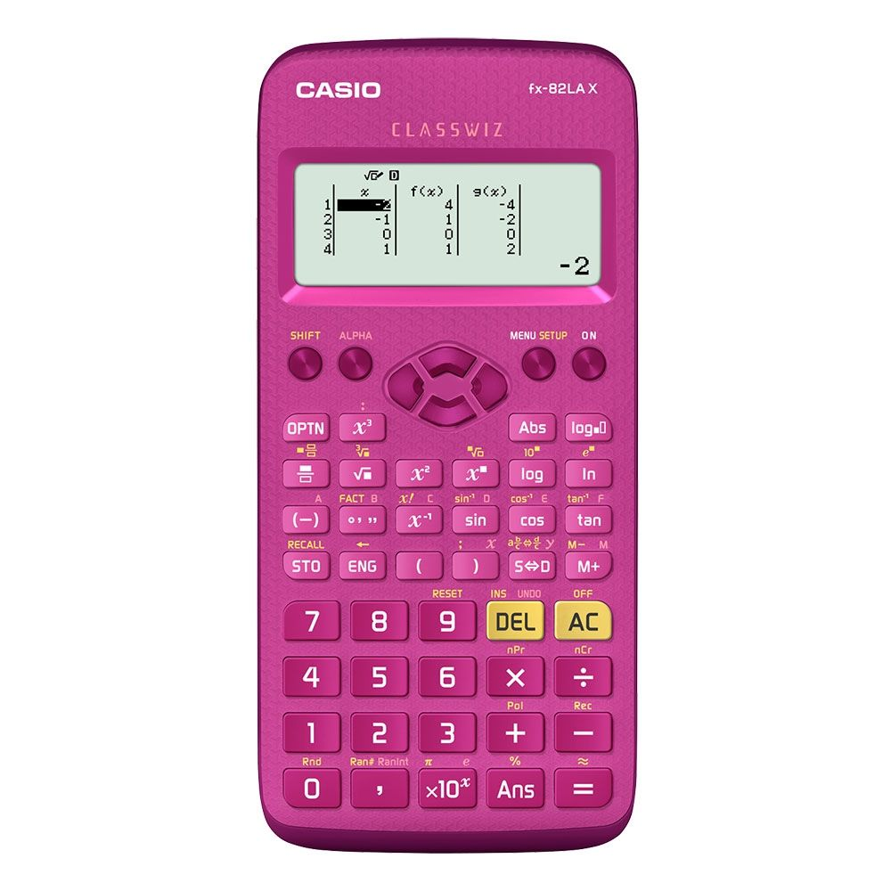Calculadora Científica Casio Classwiz  Com 274 Funções - FX-82LAX