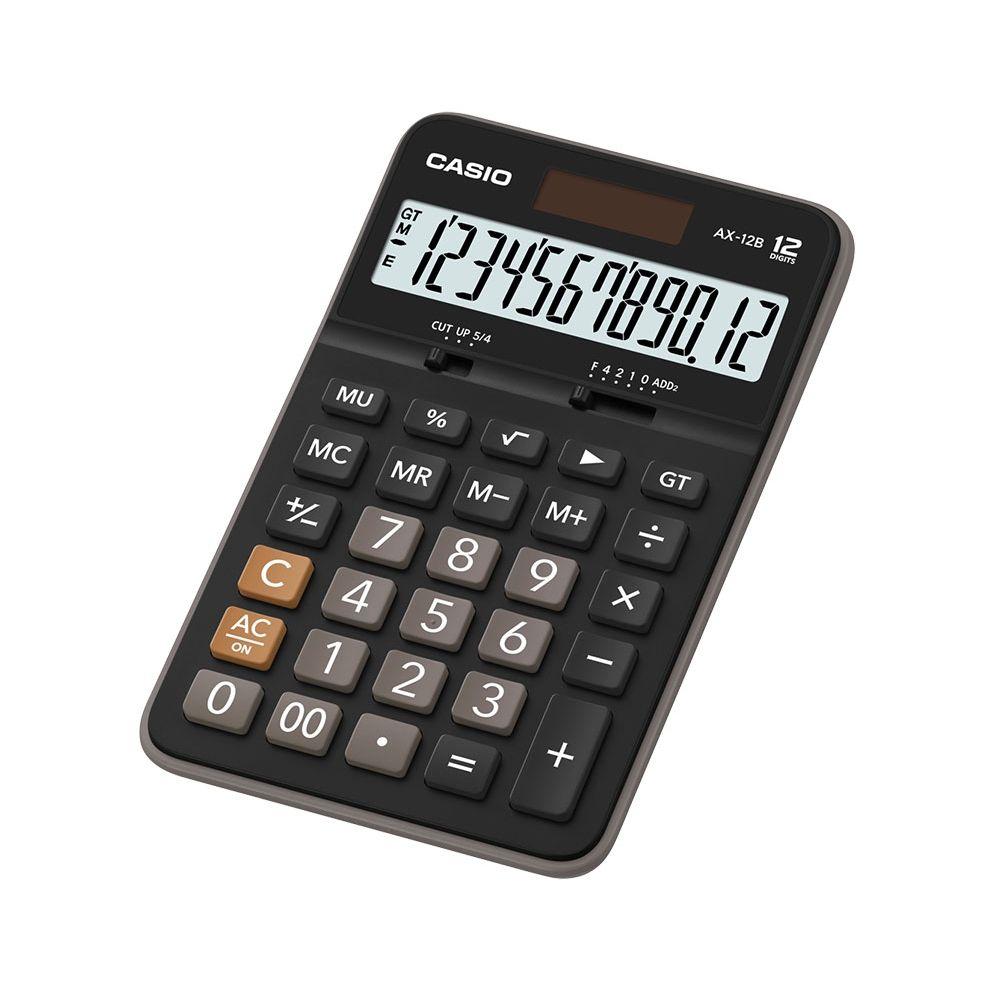 Calculadora Casio Compacta De Mesa Dígitos AX-120B