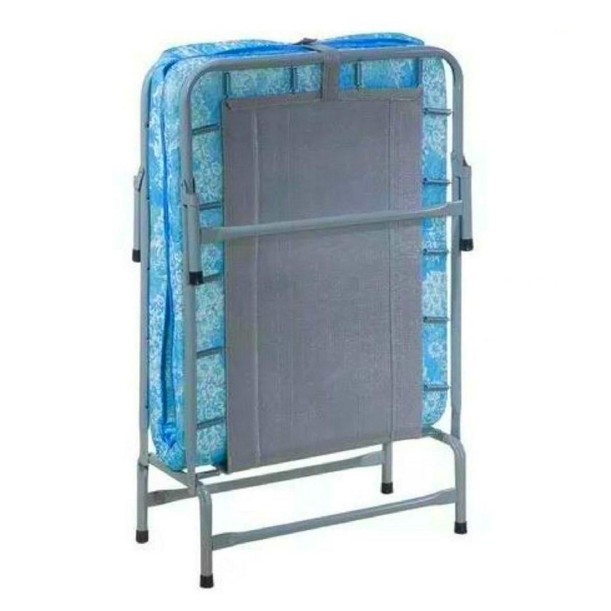 Cama Dobrável Em Aço COM Colchonete 90kg Hashigo - CP H-138