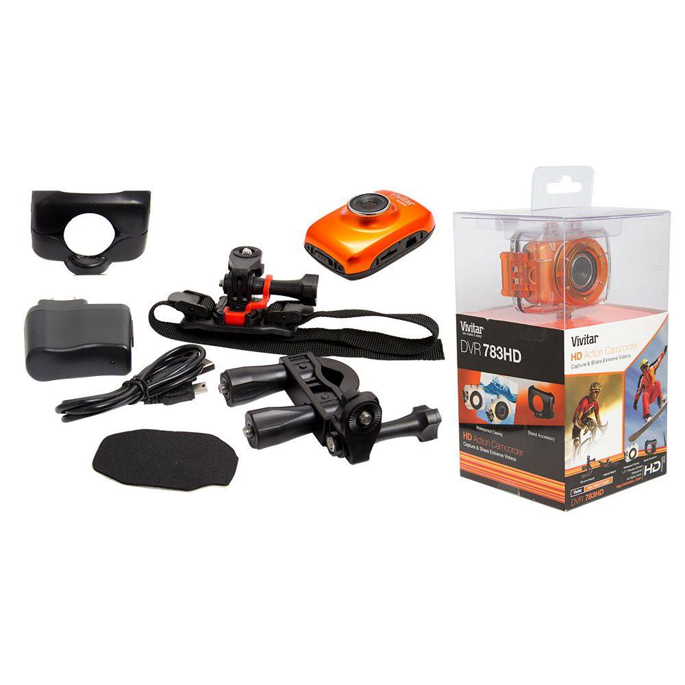 Câmera Filmadora Hd Veicular Dashcam Vivitar C/ Acessórios VIVITAR - DASHCAM_KIT