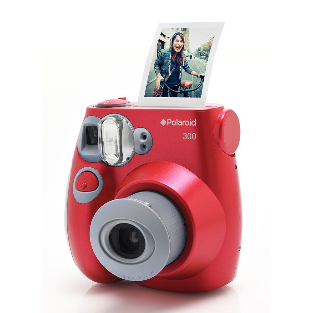 Câmera Fotográfica Com Impressão Polaroid - Polpic300
