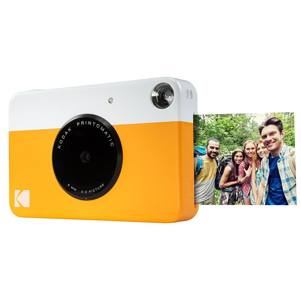 Câmera Fotográfica Com Impressão Instantânea Kodak - Rodomatic