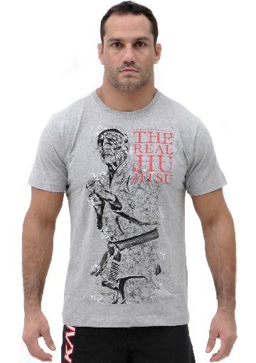 Camiseta Cinza Vulkan Jiu Jitsu Masculina - Legend